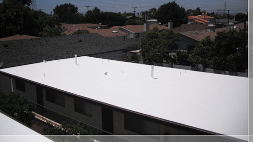Apoc 248 Roof Coating Apoc Roofing We Also Applied Two